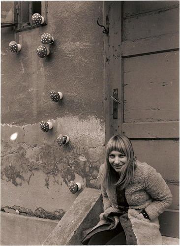 Jana Želibská - Amanita Muscaria, 1970 Bratislava (1st Open Studio), 17 x 23 cm Courtesy Gandy gallery