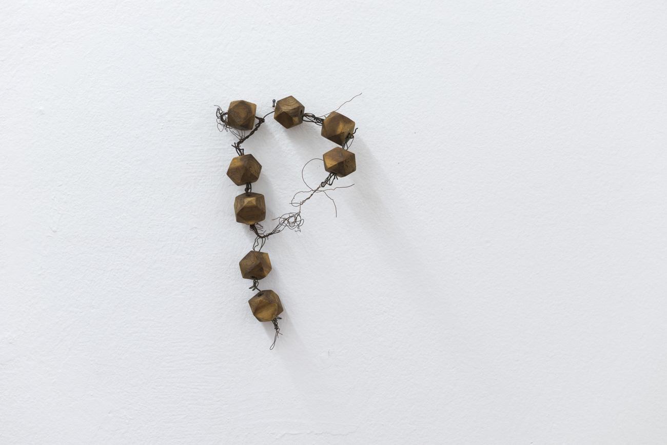 Ilija Šoškić - S. T., 1963/1966 Object (wood, iron wire), Variable dimensions Courtesy Archivio Šoškić and Gandy gallery